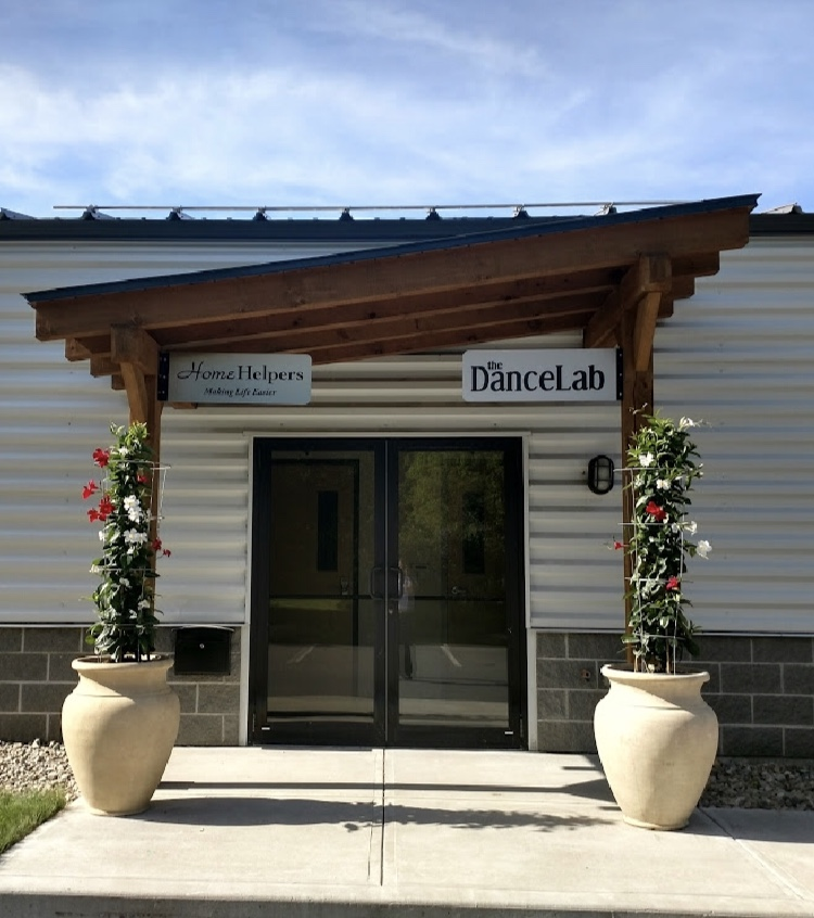 The Dance Lab Saratoga Springs Studio Entrance